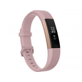 Fitbit Alta HR Special Edition fitness narukvica pink zlatna velika
