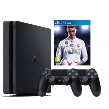 Sony PlayStation 4 Slim 500GB+igrica FIFA 18